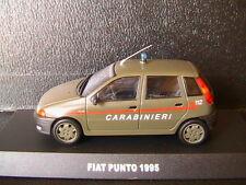 FIAT PUNTO 60S 60 S 1995 CARABINIERI DEAGOSTINI 1/43 POLIZIA VERDE VERT OLIVE