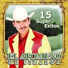 Apomeno De Sinaloa : 15 Super Exitos CD