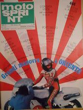 Motosprint 7 1978 con inserto Caschi - Barry Sheene - Steve Baker  [SC.31]