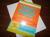 1st 1 TEST PREP WORKBOOK math language arts HOMESCHOOLING common core CLEVER CO
