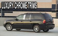 GMC Envoy XL Denali Stainless Chrome Pillar Posts by Luxury Trims 2002-2009 6pcs