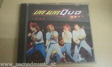 CD--STATUS QUO--LIVE ALIVE---ALBUM