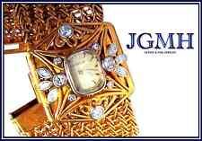 Estate Jaeger LeCoultre Diamond & 18K Gold Lady's Watch