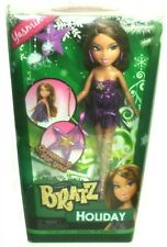 "2012 Bratz Holiday Christmas Yasmin 10"" Fashion Doll with Ornament!"