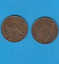 § Australie  Australia  Bronze Coin Georges VI One  Penny Bronze 1950