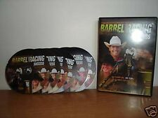 Clinton Anderson Barrel Racing 6 DVD set horse riding