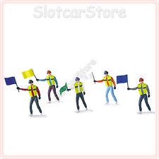 Carrera 21115 Streckenposten (Marshals) 5 Figuren Slotcar 1:32 (auch 1:24 1:43)
