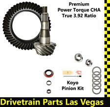"Dodge Chrysler 9.25"" True 3.92 Ring and Pinion Gear Set Pinion Install Kit NEW"