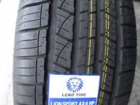 4 New 255/60R18 Inch Lion Sport 4X4 HP Tires 255 60 18 R18 2556018 60R