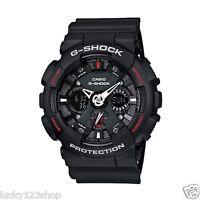 GA-120-1A Black Casio Men's Watches G-Shock Analog Digital 200M Resin Band New