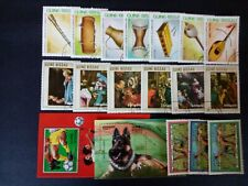 GUINEA-BISSAU good lot of complete series CTO