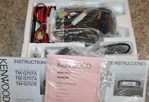 BN! Kenwood Car Transceiver TM-G707A FM Dual Bander 144/440MHz NEW!