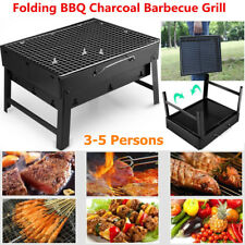 Folding Portable BBQ Stove Charcoal Barbecue Grill Garden Outdoor Travel Camping