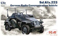 ICM 1/72 Sd.Kfz.223 Radio Communication Vehicle # 72421
