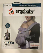 NEW Ergobaby Cool Air Mesh ALL-IN-ONE OMNI 360 Baby Carrier Pink Sling 7-45LBS