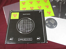 Kraftwerk  RADIO-AKTIVITÄT - LP EMI Electrola Hörzu 1C 062-82087 + 14 stickers