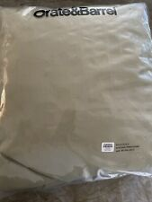 """Brand New Crate and Barrel outdoor round table cover 80"""" X 30"""" sku # 132-612"""