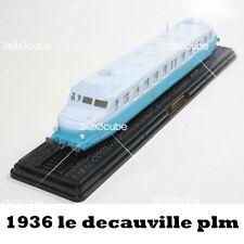 HO 1/87 AUTORAILS France Le Decauville PLM Premiere Serie ZZ-P-7 1936 By Atlas