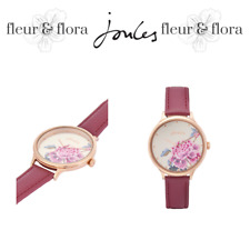 Joules | Bloom Watch | Leather | Pink Chinoise | RRP £65 / Free P&P