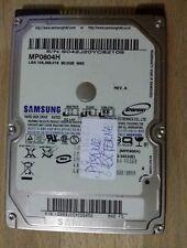DISQUE DUR INTERNE  SAMSUNG 80GB  (2.5POUCE ) IDE - MODEL :MP0804H