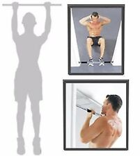 ADJUSTABLE PORTABLE DOORWAY CHIN UP BAR | SIT UP BAR | PULL UPS BAR WORKOUT GYM