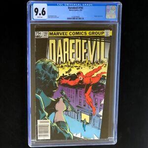 Daredevil #192 💥 CGC 9.6 💥 CANADIAN 75 CENT PRICE VARIANT - HIGHEST GRADED!