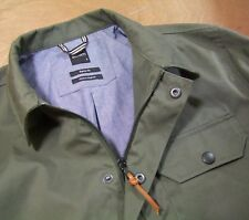 Albam Smart/Casual Lined Cotton Chore Style Jacket Olive Green Large
