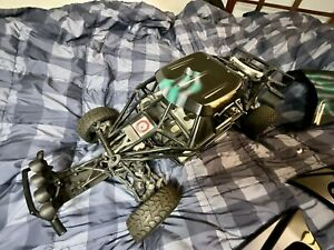 HPI Racing Baja 5T 2-Stroke 1/5 Scale Gas Race Truck With Turtle Racing upgrades