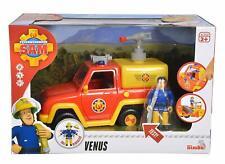 Fireman Sam Simba 109257656 Venus Fire Engine with Figure and Original Sound,