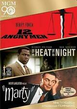 NEW 12 Angry Men / In the Heat of the Night / Marty (DVD, 2014, 3-Disc Set)
