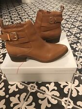 Sole Society Tan, Booties, Size 7