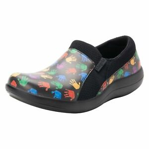 Alegria Duette Women Slip On Clogs Synthetic Leather