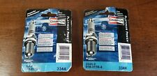 Sealed 2 Pack of 2 Champion Platinum Power Spark Plug 3344  Old Stock from 2006