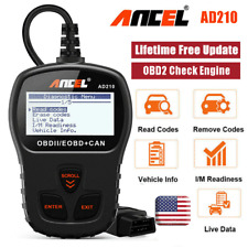 Ancel AD210 Automotive OBD2 Scanner Code Reader Car Check Engine Diagnostic Tool