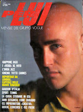 PER LUI 27 1985 Moda 80s Fashion Ty Jeffreys Apollonia Ramazzotti Carroll Dunham