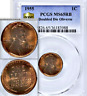 1955 PCGS MS65 RB Doubled Die Obverse ◉ $124,875 APR-MS65+RD Lincoln Cent DDO 1C