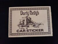 (Ireland's) Durty Nelly's Car Sticker/Post Card (Rare & vintage)