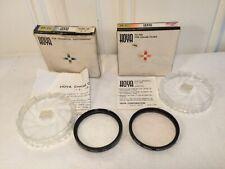 Vintage Hoya 49mm Skylight (1A) Filter & Hoya 49mm +3 lens