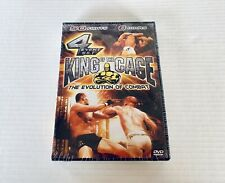 King of the Cage KOTC #1-4 DVD 4 Event Box Set NEW Rampage Matsui Vazquez Ludwig