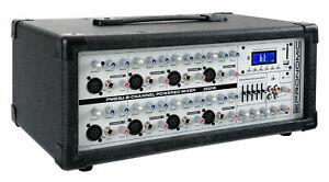 B-WARE 8-KANAL DJ PA POWER MISCHER MISCHPULT VERSTÄRKER USB BLUETOOTH MP3 PLAYER