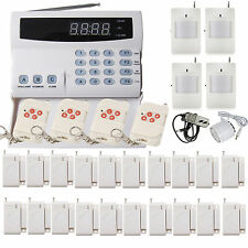 New PSTN 99 Wireless Zones Voice Home Security Alarm Burglar System Auto Dialer