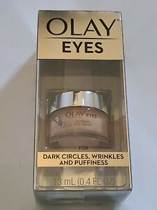 Olay Eyes Cream-Dark Circles, Wrinkles and Puffiness 0.4 oz (13mL)