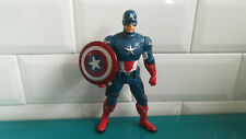 Captain America figurine figure 2011 Marvel Hasbro 20cm