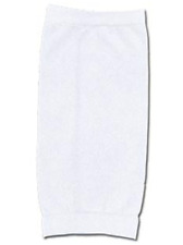 VICI Compression Soccer Sleeves for Shinguard, Adult, White