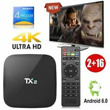 TX2 2GB+16GB Quad core Android 6.0 Smart 4K H.265 TV BOX Bluetooth WIFI HDMI FR