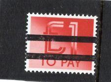 GB 1982 £1 Postage Due School Training Stamp 2 Bar MNH