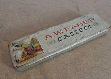Vintage Faber Castell pencil tin 1960's