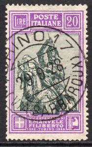 Italy 20 Lire Stamp c1928 Used Cat.£725 (4785)