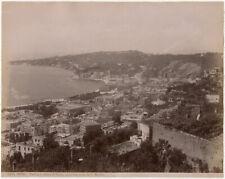 Photo Brogi Albuminé Italie Naples Napoli Italia Vers 1880