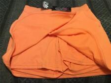 NWT GLORIA VANDERBILT Orange skirt w/shorts M 10 12  skorts w/ pockets